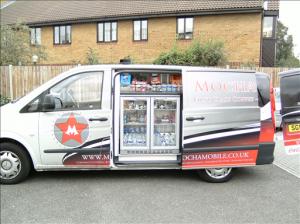 Mobile coffee van