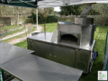 Wood Fired Pizza Oven Trailer